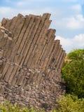 Basalt organ pipes - detail Royalty Free Stock Photo