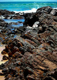 Basalt Pools Royalty Free Stock Images