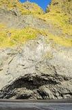Basalt Rock column cave Iceland Stock Image