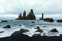 Basalt rock formations Stock Photos