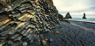 Basalt rock formations Royalty Free Stock Photography