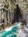 Basalt rock Royalty Free Stock Photo