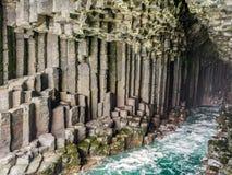 Basalt rock Stock Photo