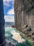Basalt rock Stock Image