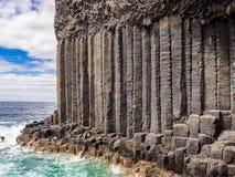 Basalt rock Royalty Free Stock Photography