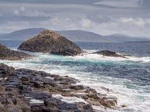Basalt rock Royalty Free Stock Photos
