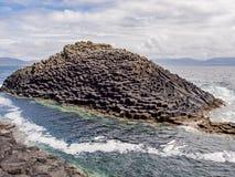 Basalt rock Royalty Free Stock Images