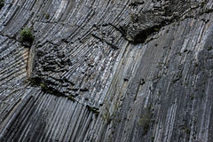 Basalt rock Stock Image