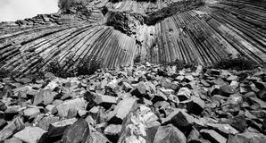 Basalt rock Stock Images
