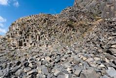 Basalt rocks in Armenia. Royalty Free Stock Image