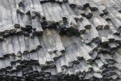 Basalt Rocks Iceland Stock Image