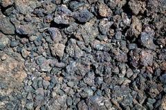 Basalt rocks. Tsavo West, Kenya, Africa Royalty Free Stock Photos