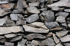 Basalt stone texture Stock Images