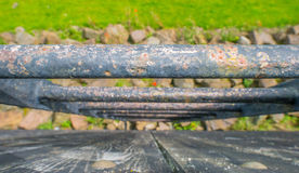 Basalt stones once protecting a settlement Royalty Free Stock Photography