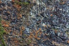 Basalt, volcanic rocks Stock Photography