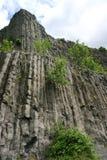 Basalt Vulcan. A view to an old basalt vulcan Royalty Free Stock Photo
