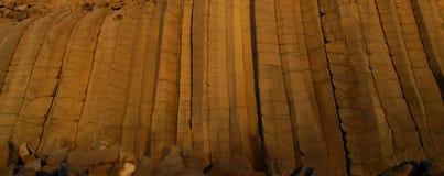 Basaltachtige muur Stock Fotografie