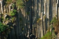 Basaltachtige Prisma's van Santa Maria Regla mexico stock foto's