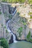 Basaltachtige Prisma'scanion van Santa Maria Regla, Huasca DE Ocampo, Mexico 16 mei Stock Foto's