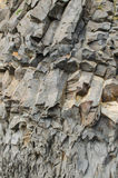 Basaltbildande nära Vik Royaltyfri Bild