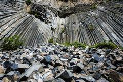 Basaltfelsen Stockfotografie