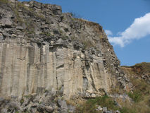 Basaltic columns Royalty Free Stock Photography