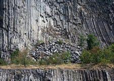 Basaltic hill detail Royalty Free Stock Image