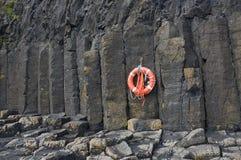 Basaltic kolonner, Staffa Arkivbild
