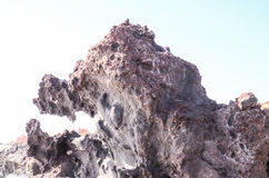 Basaltic Lava Formation Royalty Free Stock Images