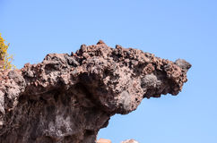 Basaltic Lava Formation Stock Image
