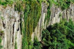 Basaltic Prisms Canyon of Santa Maria Regla, Huasca de Ocampo, Mexico. May 16th royalty free stock photo
