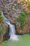 Basaltic Prisms of Santa Maria Regla. Mexico royalty free stock photography