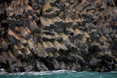 Basaltic rocks formations Stock Photo