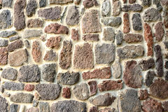 Basaltic Stonewall Zdjęcia Stock