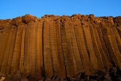 Basaltic wall Stock Photography