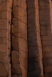Basaltic wall Royalty Free Stock Photography