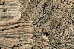 Basaltkolonn Arkivbild