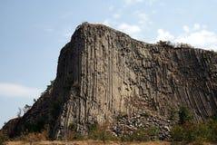 Basaltkolonner Arkivbild