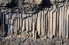 Basaltkolonner berg av för den Garni klyftan, Armenien, Kaukasus, Asien Royaltyfria Foton