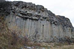 Basaltkolonnlandskap VI Arkivbild