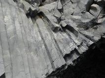Basalto colonnare fotografie stock