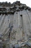 Basaltsäulen Stockfoto