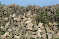 Basaltstones, Afsluitdijk Zdjęcie Stock