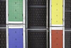 Basamenti dei colori fotografia stock