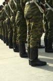 Basamento del Soldiery Immagini Stock