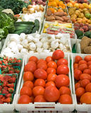 Basamento di frutta (1 di 2) Immagini Stock Libere da Diritti