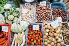 Basamento di verdure Fotografia Stock