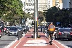 basanaviciaus rowerowa palanga ścieżki ulica zdjęcie stock