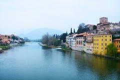 Basano del Grappa, Italia Fotografia Stock