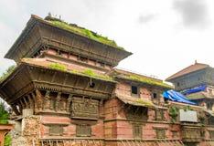 Basantapur Durbar av Nepal Arkivfoto